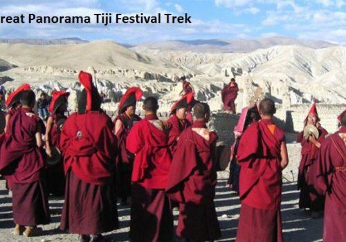 Great panorama treks tiji festival trek
